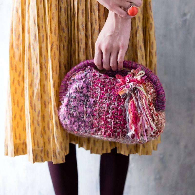 Keito×毛糸だま「ワンストロークのバッグ」
