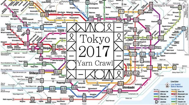 TOKYO YARN CRAWL ありがとうございました!