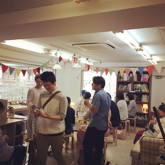 『ツムギ&ニット・カフェ』