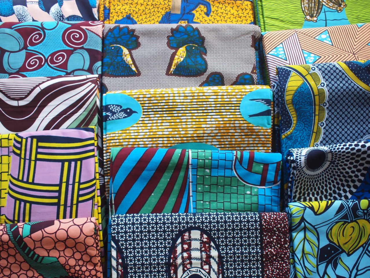 4/30 thu-5/10 sun『African textile 煌めく色との出会い2020-ボトムオーダー会at Keito online shop』