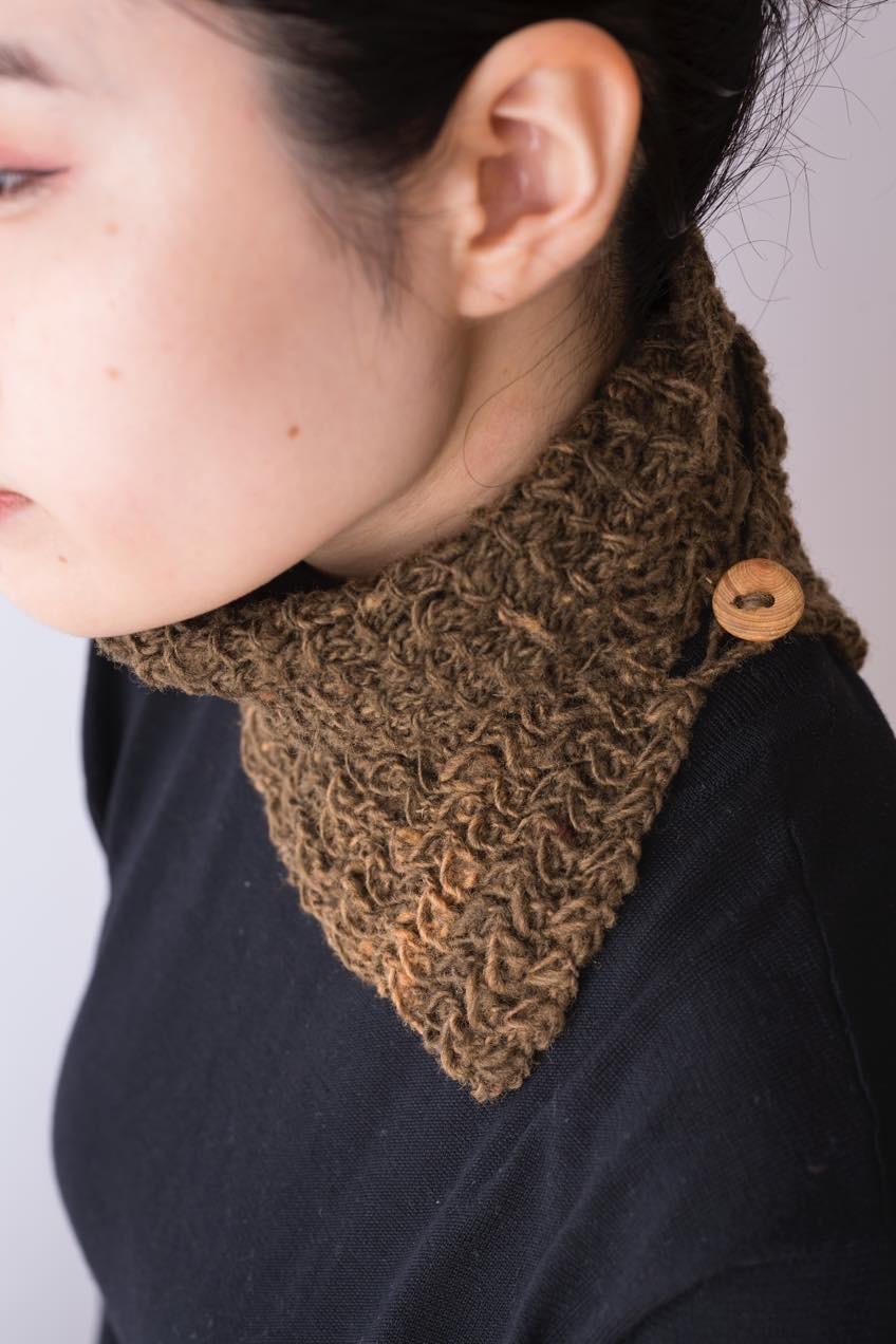 【出版記念】手紡ぎ糸のプチショール(木曜クラス)